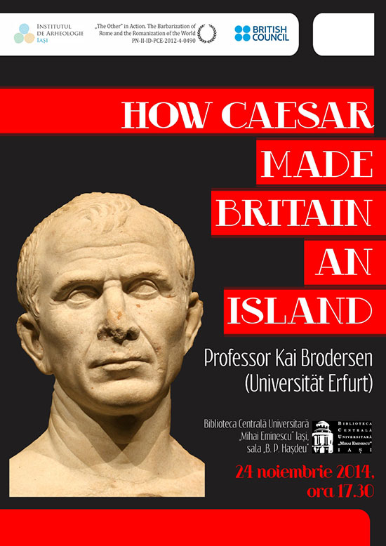 how caesar made britain an island